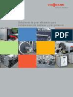 VIESSMANN_Catálogo Caldera Industrial y de Vapor