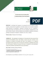 Revista de Patologias Nas Fundações
