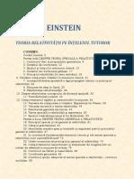 Albert Einstein - Teoria Relativitatii Pe Intelesul Tuturor.pdf