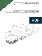 DC Rep.T1N Facelift D ISRI1000(6000)/935 Reparaturanleitung
