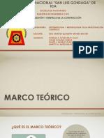 Marco Teorico Postgrado Unica