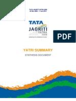 Yatri Summary TJY 2009