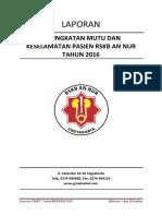 Laporan Tim PMKP 1 Tahun 2016