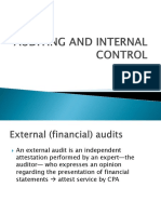Ch 1. Auditing and Internal Control
