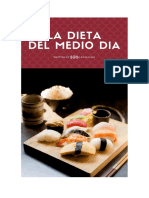 La Dieta Del Medio Dia Libro