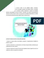 EDUCACIÓN SANITARIA-1