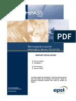 Test d'Habileté Cognitive Appliquée Au Travail (TH-CAT 10A) - Rapport TH-CAT 10A