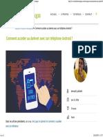 (Comment Accéder Au Darknet Avec Son Téléphone Android _ - FunInformatique)
