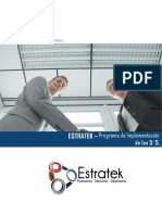 ESTRATEK - Programa de Implementacion de Las 5S