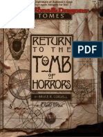 Return to the Tomb of Horros and Tomb of Horrors