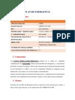Plan Contingencia Ciber 2017