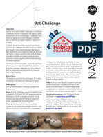 3d-Printed Habitat Challenge Fact Sheet