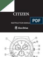 Citizen E81. y E82. Manual
