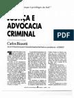 Justiça e Advocacia Criminal