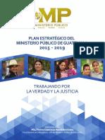 Plan Estrategico Del Ministerio Publico de Guatemala 2015 2019