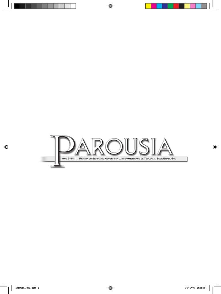 Parousia 1 semestre 2007 o israel de deuspdf fandeluxe Choice Image