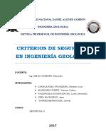 Criterios de Seguridad en Ingenieria Geologica[1]