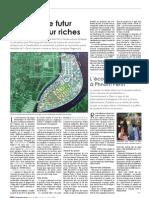 Koh Pich, le futur repaire pour riches (Phnom Penh-Cambodge)