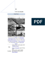 World War I and Its Timeline Events