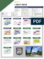 Calendario Escolar 2017-2018 UAC