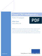 White Paper Good Old Mathematics
