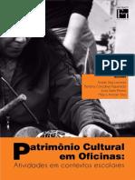 Patrimônio Cultural Em Oficinas_ Atividades Em Contextos Escolares