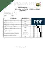 Formato Evaluacion Perfil Del Egresado
