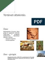 Biomechanika Történeti áttekintés