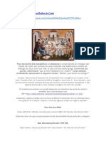Maria e o Milagre Das Bodas de Caná