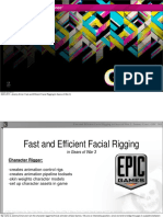 Jeremy Ernst Fast and Efficient Facial Rigging