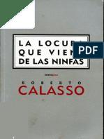 Calasso Roberto - La Locura Que Viene de Las Ninfas