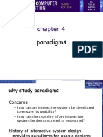 Chapter 4 - Paradigms