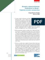 ROMANO, 2014, Friedrich-Ebert-Stiftung , Energia e Desenvolvimento Sustentável No Brasil – Trajetórias Recentes e Perspectivas.(1)