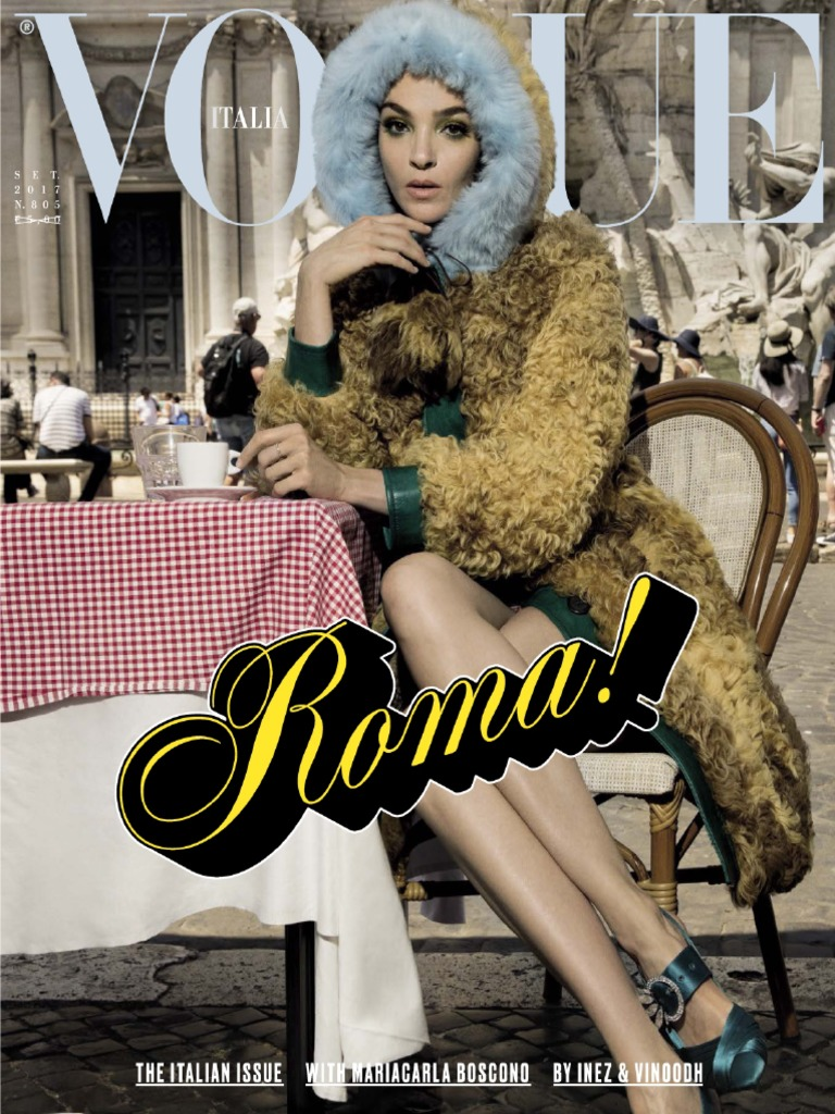 06eb7177c12d Vogue Italia N 805 Settembre 2017