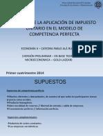 Impuesto Unitario en Competencia Perfecta