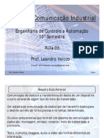Redes de Comunicação Industrial Aula 03 Part1