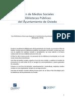 Plan Presencia de Las Bibliotecas Municipales en Las Redes Sociales