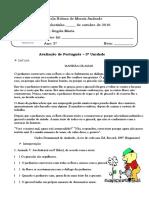 Português 5º Ano III Unidade