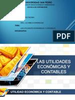 Utilidades Contable y Economica