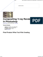 Compositing V-ray Render Layers