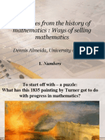 Anecdotes From the History of Mathematics