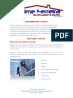 Propuesta de Servicios Jfdc