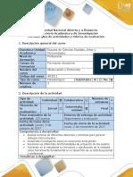 Guía y Rubrica Observación y Entrevista 403011_Paso 3 Construcción y Diseño de Formato de Entrevista