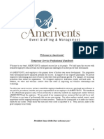 Amerivents Handbook