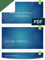 1. Analisis Vertical y Horizontal