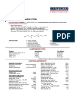 Data Sheet for Tetraethyltetramine (TETA)