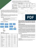 Práctica sobre farmacocinética (modelo de vidrio)