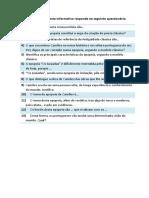 Questionário_tx Informativo Páginas 165-167_Areal