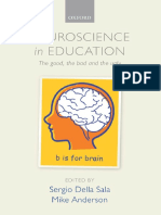 Neuroscience on Education