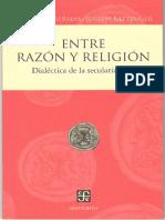 Entre razón y religión. Dialéctica de la secularización